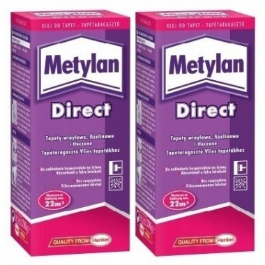 Klej do tapet Metylan Direct dwupak