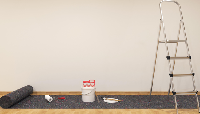 Jak równo nakleić fototapetę na ścianie