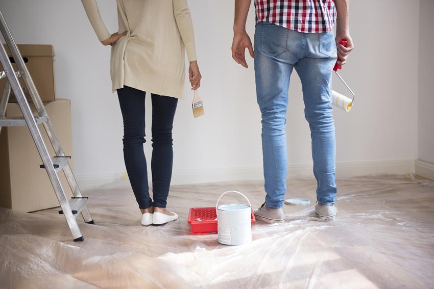 Malowanie tapety